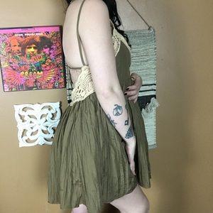 Free People Dresses - FREE PEOPLE / Strappy Mini Dress